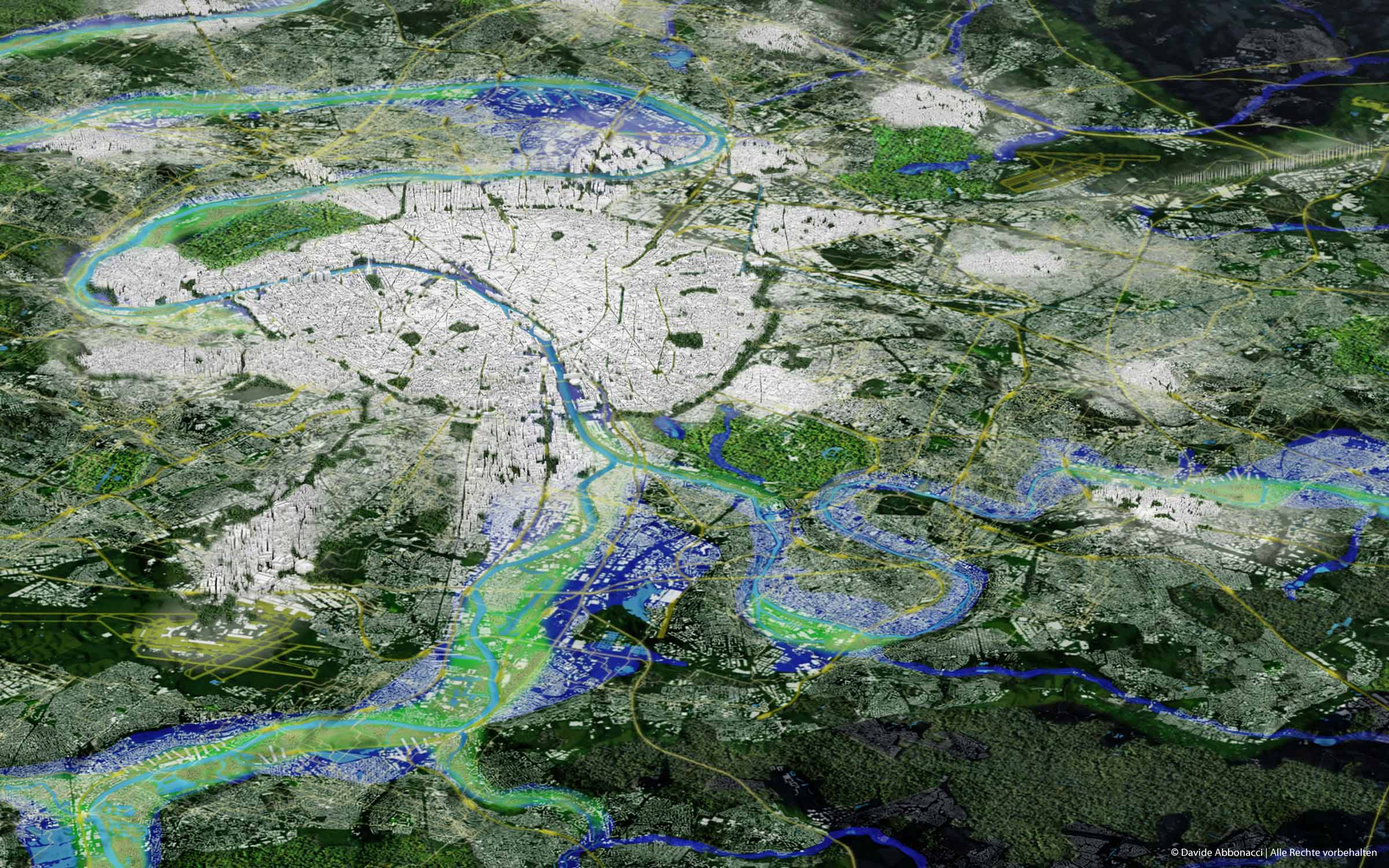 Grand Paris - Métropole Douce - Propositions for the Post-Kyoto Metropolis | LIN Architects Urbanists | 2009 Masterplan