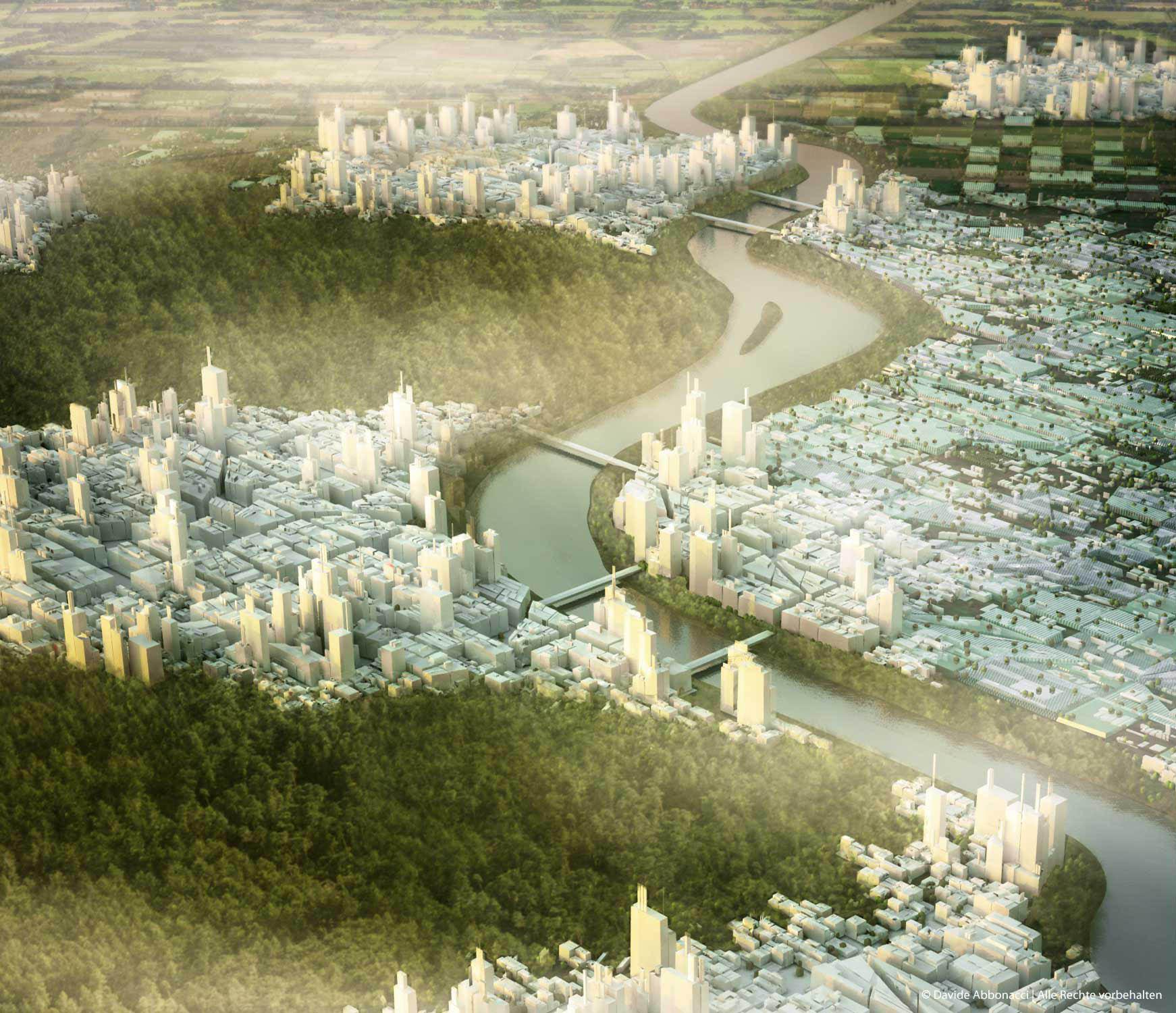 Grand Paris - Métropole Douce - Propositions for the Post-Kyoto Metropolis   LIN Architects Urbanists   2009 Masterplan - Studie