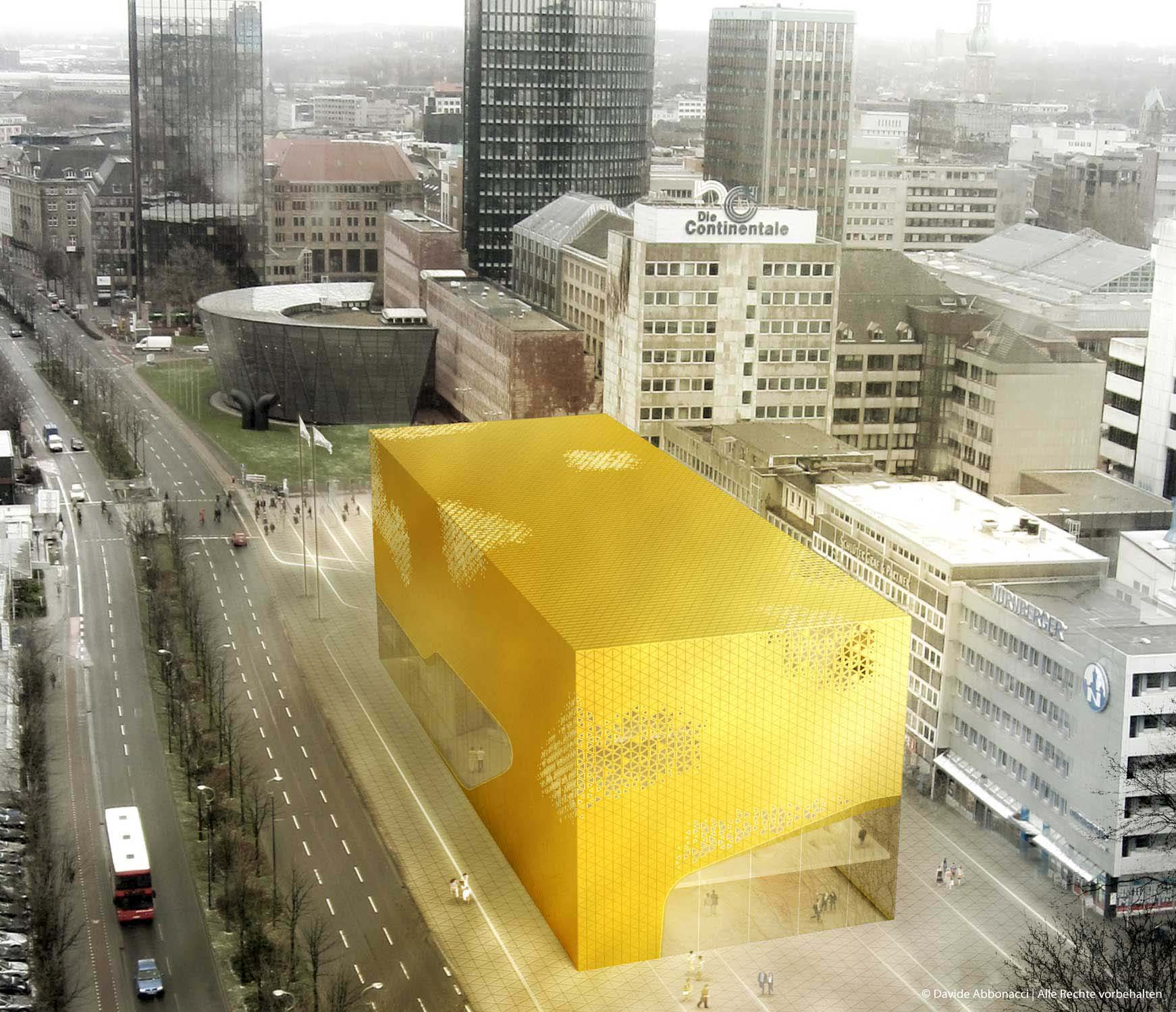 DFB Museum, Dortmund   Numrich Albrecht Klumpp Architekten   2011 Wettbewerbsvisualisierung
