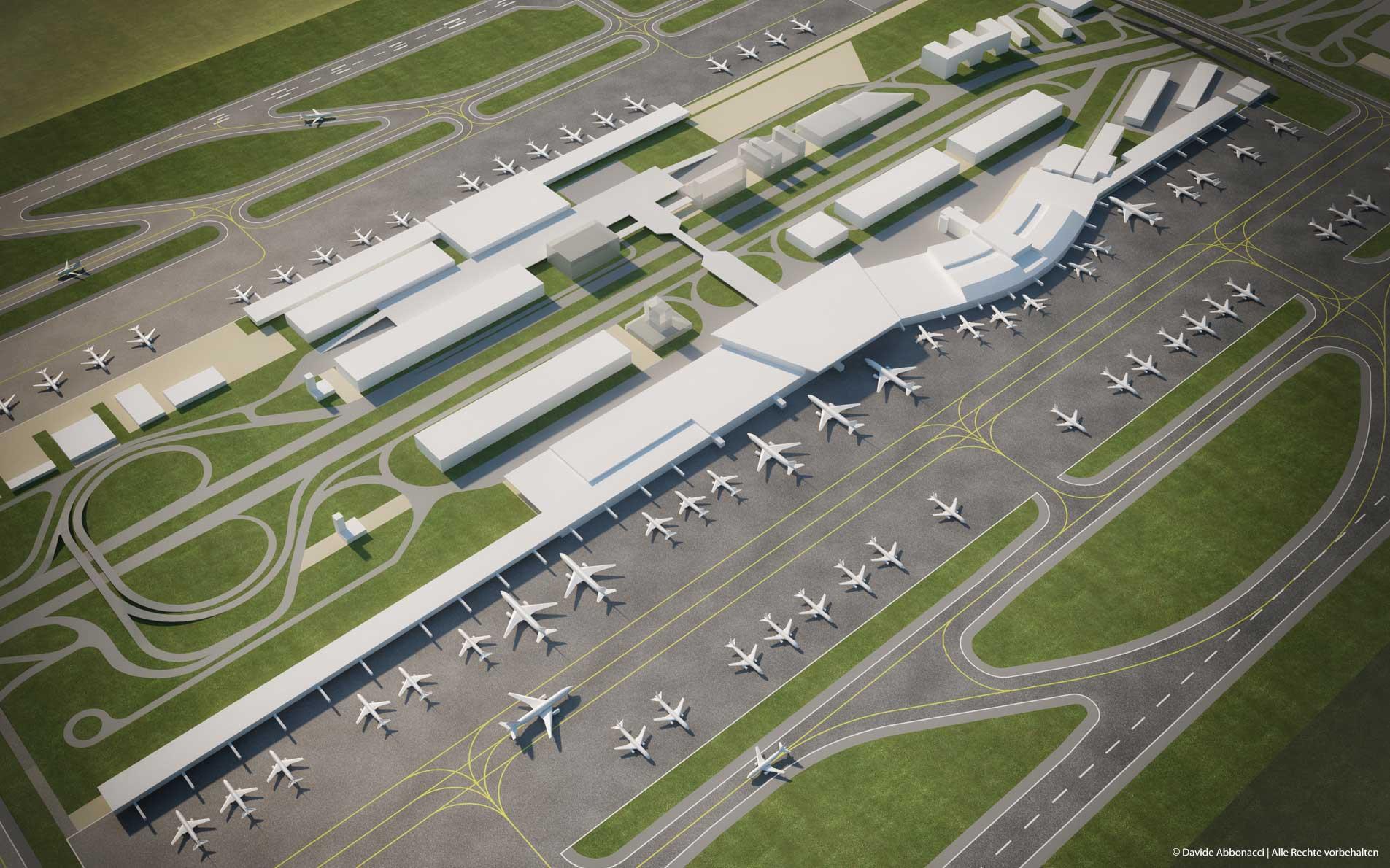 Flughafen Masterplan in Brasilien   amd.sigma GmbH   2014 Masterplan