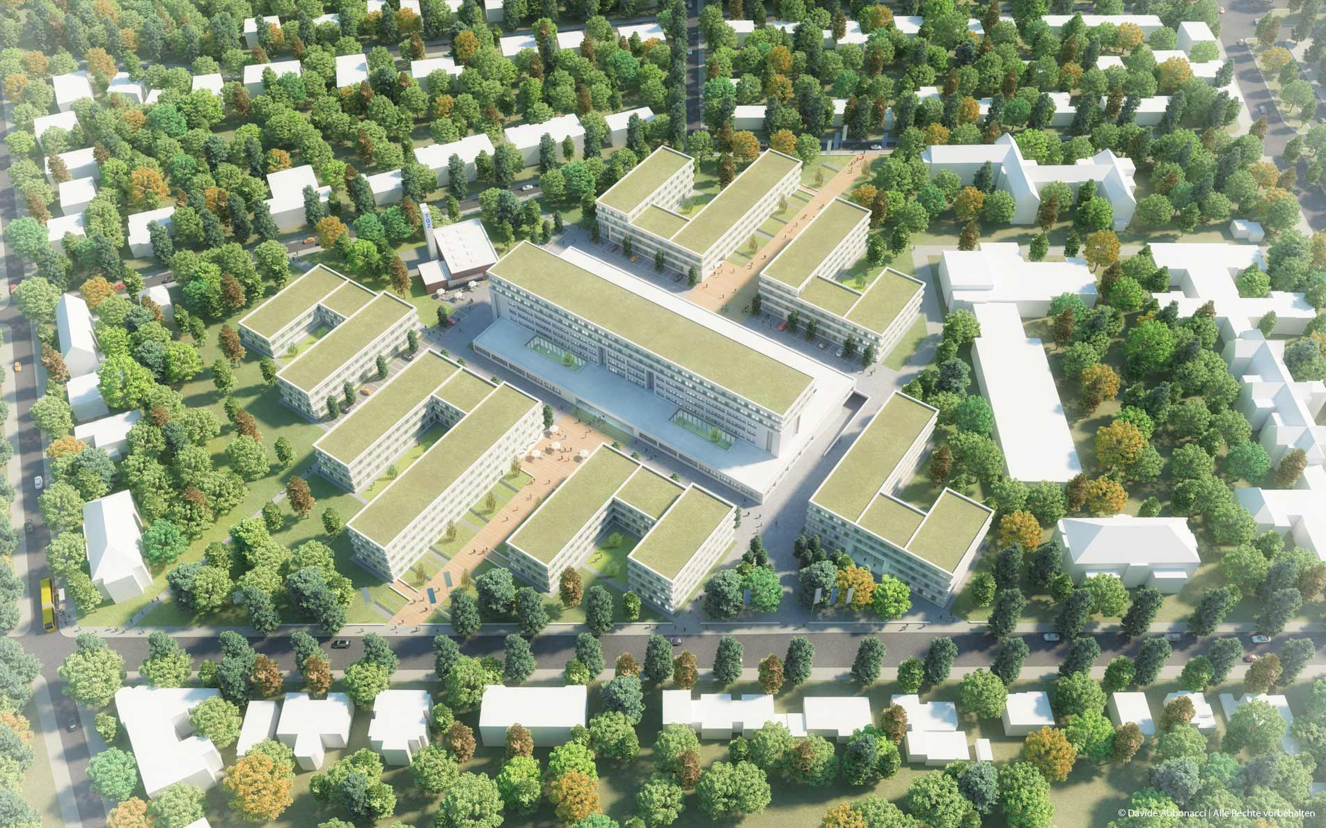 Technologie- und Gründerzentrum Südwest, Berlin   Numrich Albrecht Klumpp Architekten   2015 Masterplan