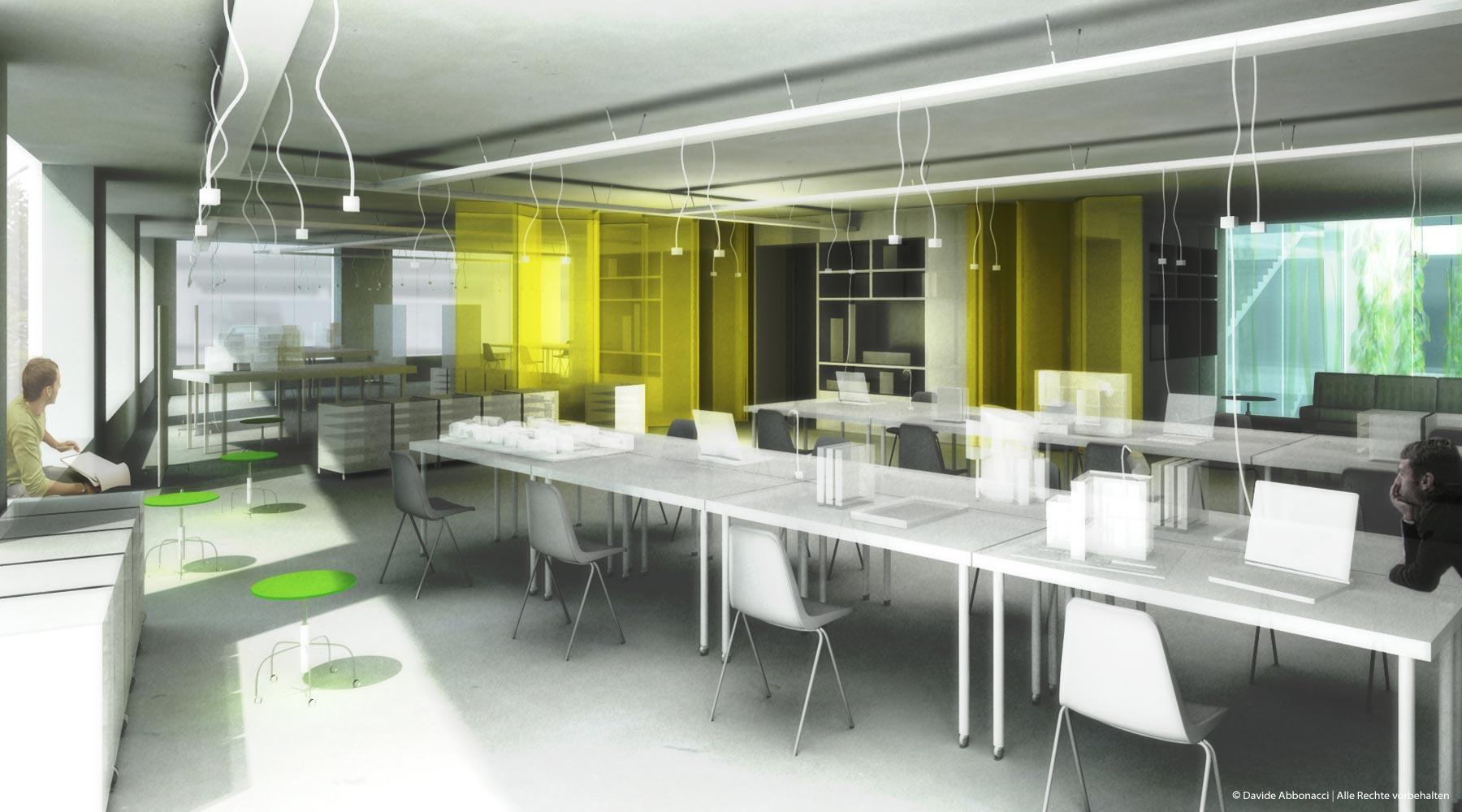 Ecole d`Architecture, Straßburg | LIN Architects Urbanists | 2007 Wettbewerbsvisualisierung