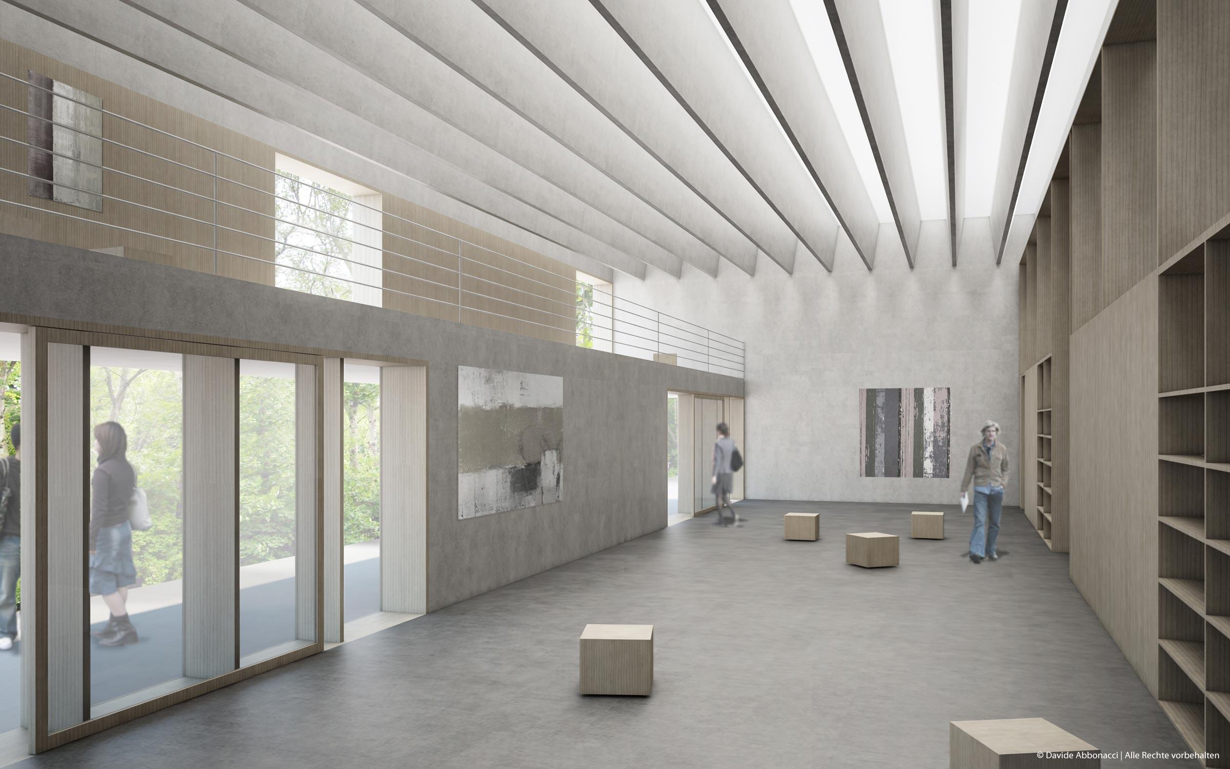 Akademie der Bildenden Künste, Nürnberg | Bruno Fioretti Marquez Architekten | 2009 Wettbewerbsvisualisierung