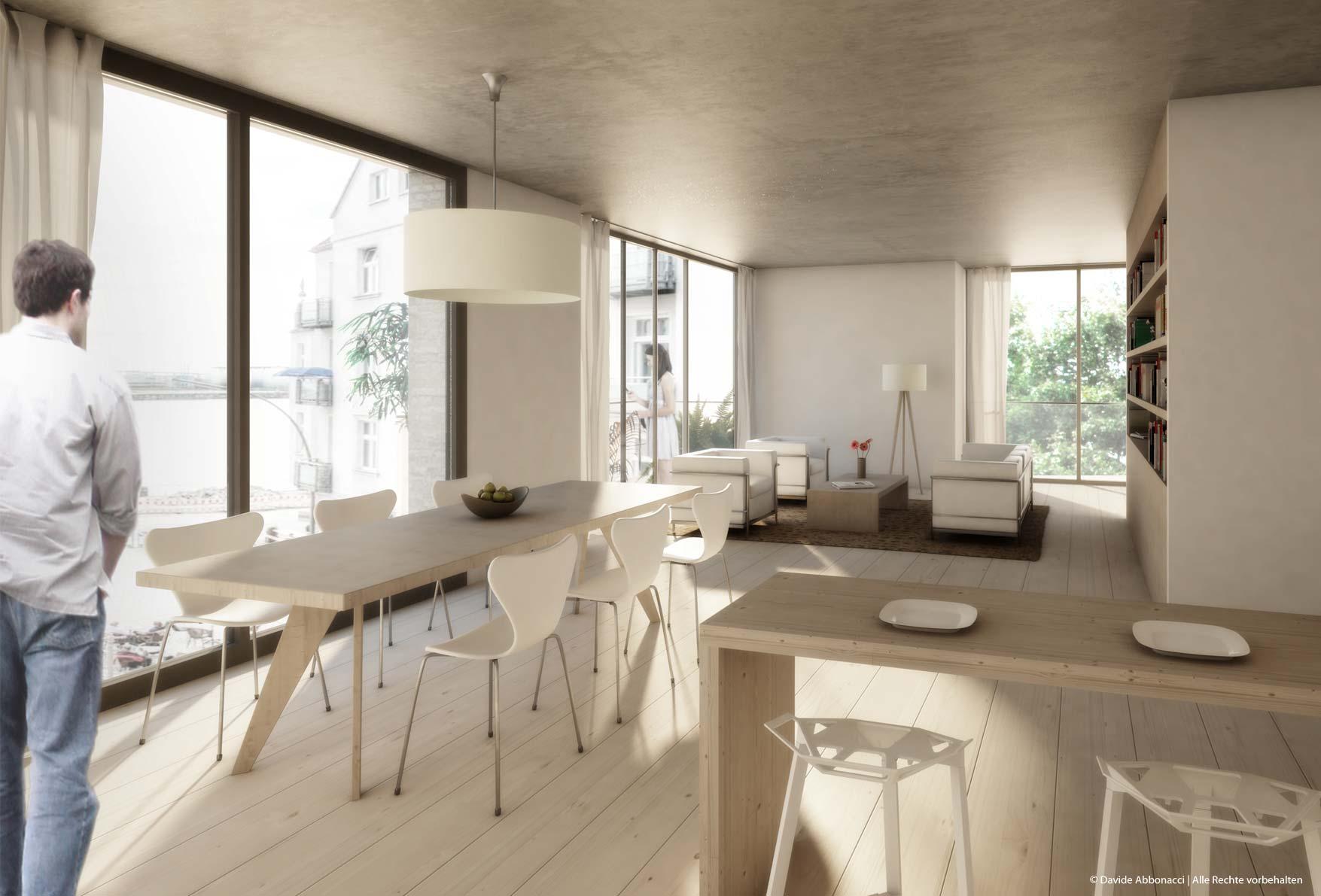 innenr ume davide abbonacci 3d visualisierung berlin. Black Bedroom Furniture Sets. Home Design Ideas