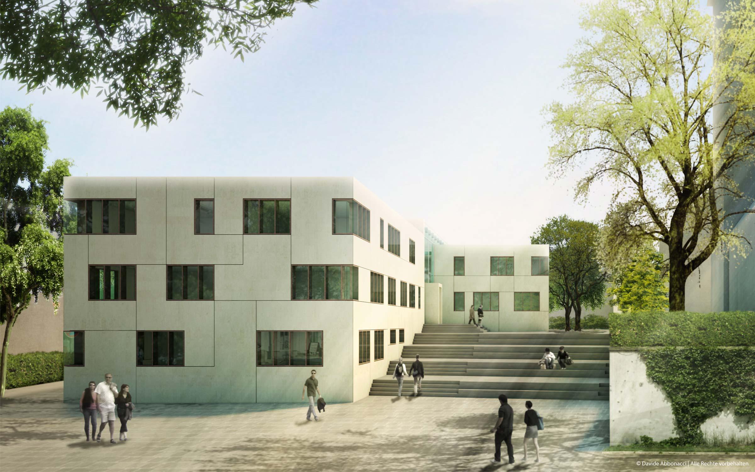 Rathaus Leingarten   Christine Edmaier Architektin   2009 Wettbewerbsvisualisierung
