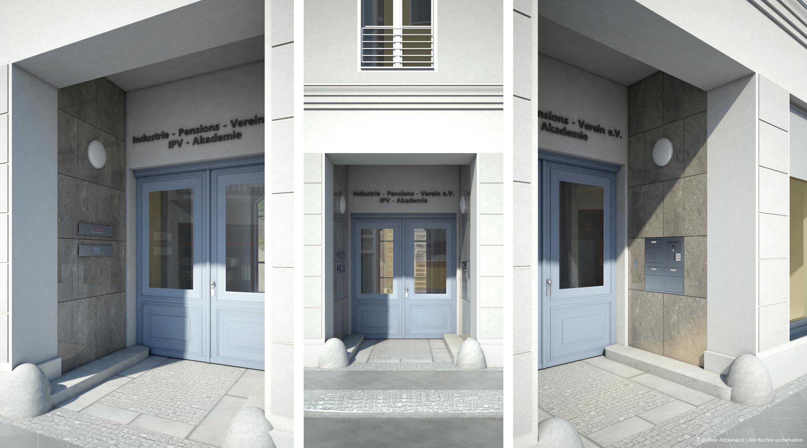 Niederwallstraße 10, Berlin Mitte | Moghimi Architekten | Sanierung Eingangsbereich