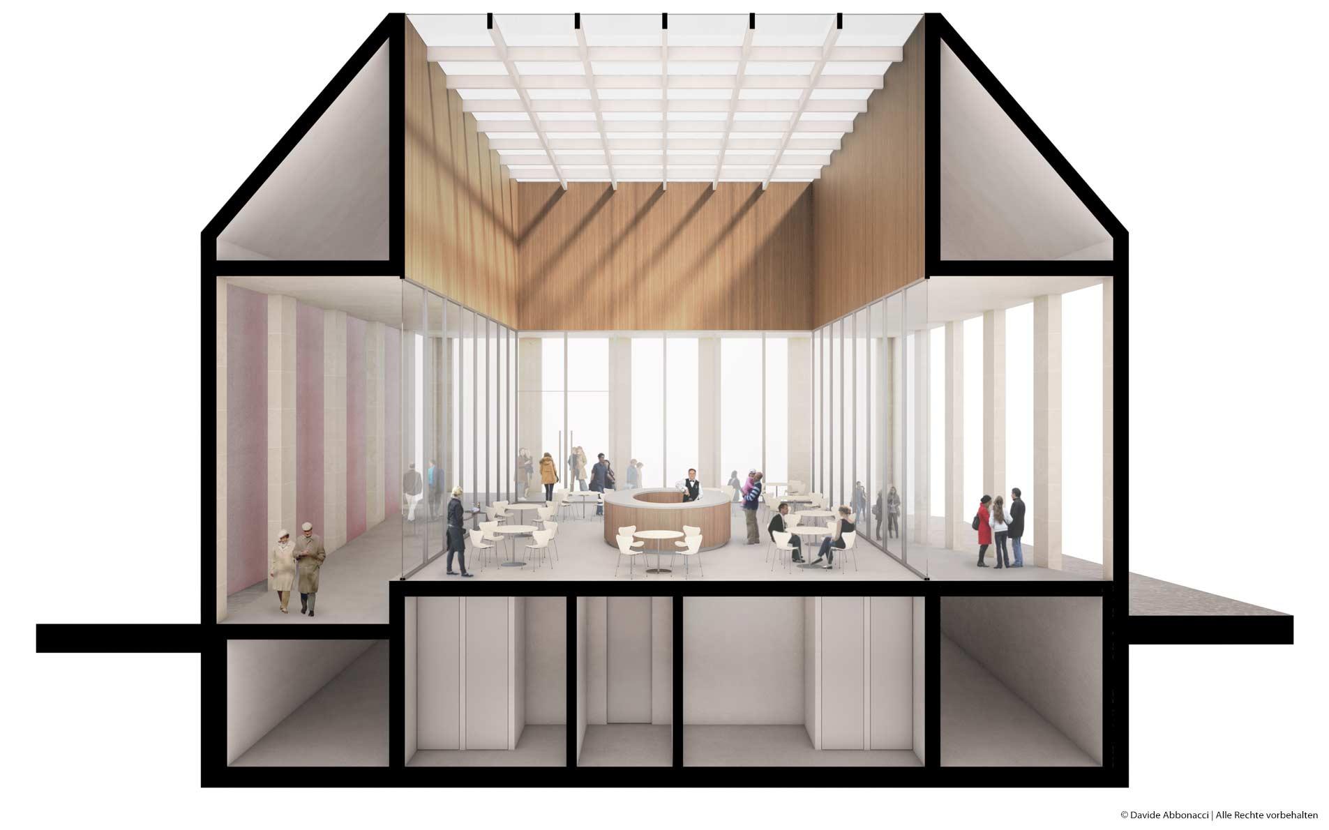 Höfe am Kaffeeberg Ludwigsburg, Stuttgart | Kuehn Malvezzi Architekten | 2013 Wettbewerbsvisualisierung