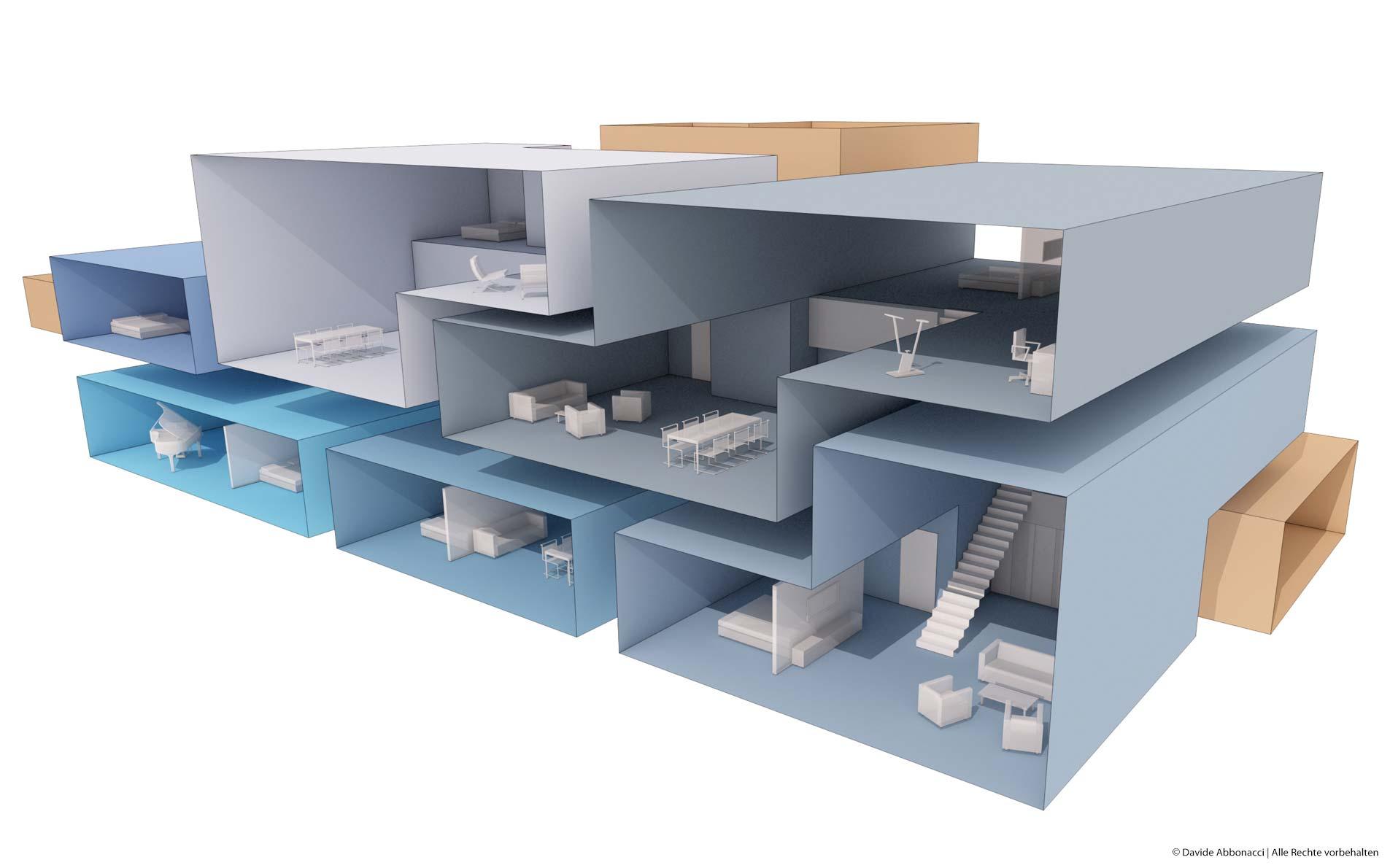 Speicherstadt Hamburg | Christine Edmaier Architektin | 2012 Wettbewerbsvisualisierung | Anerkennung