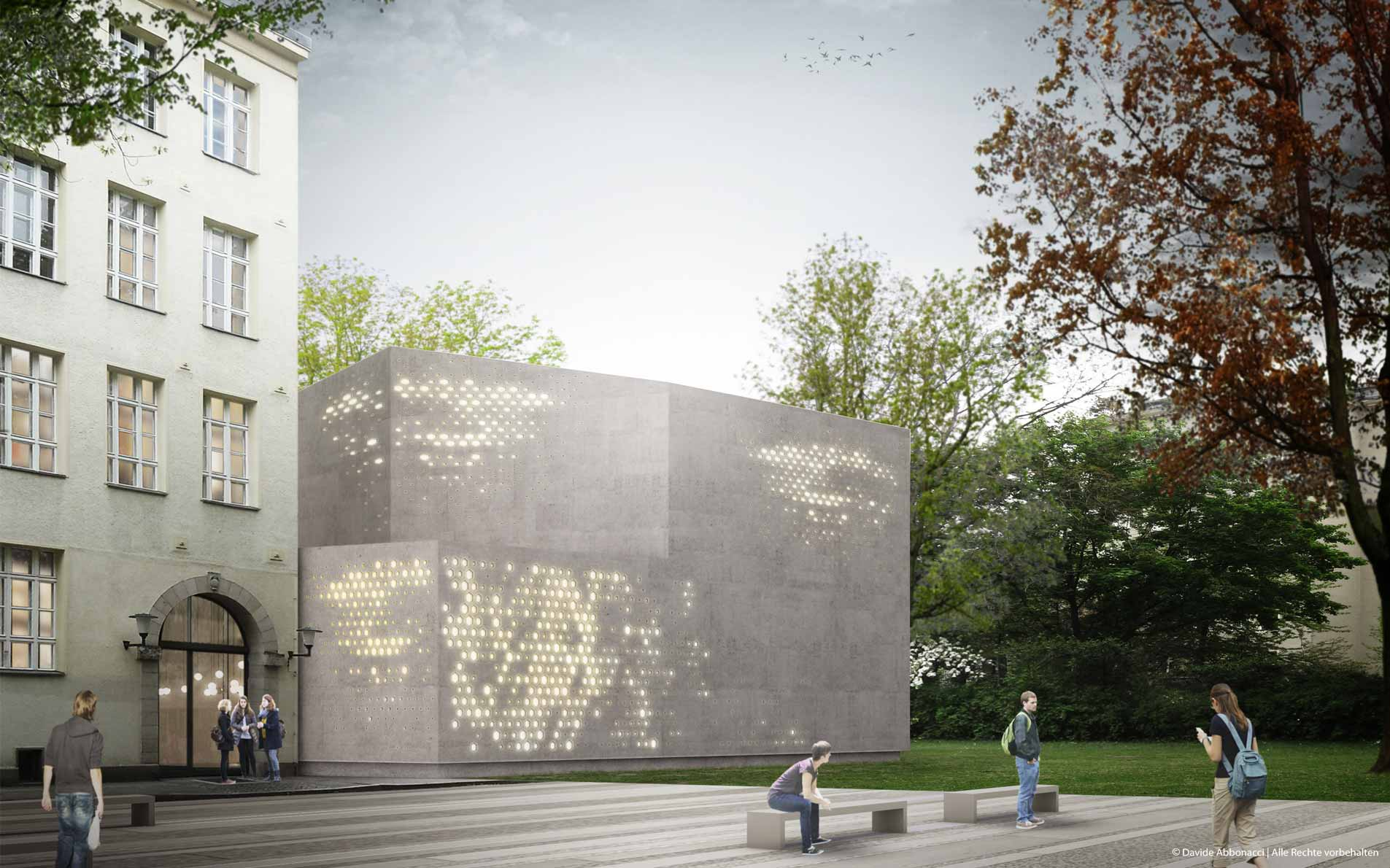 Händel Gymnasium, Berlin | Numrich Albrecht Klumpp Architekten | 2013 Wettbewerbsvisualisierung | 1. Preis