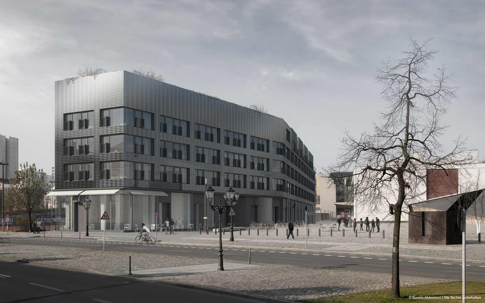 IBeB, Berlin-Kreuzberg | Heide & Von Beckerath Architekten | 2015 Visualisierung Projektpräsentation